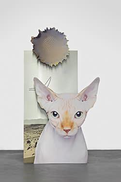 'Mars Potential (Cat)' (2015) by Katja Novitskova