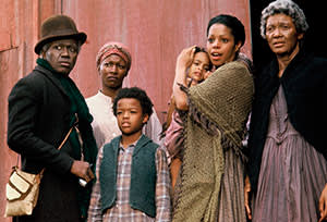 The 1977 television mini-series 'Roots'