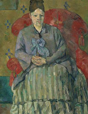 Paul Cézanne's 'Madame Cézanne in a Red Armchair'