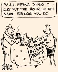 Roger Beale soapbox cartoon