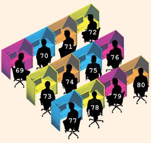 Illustration depicting data science