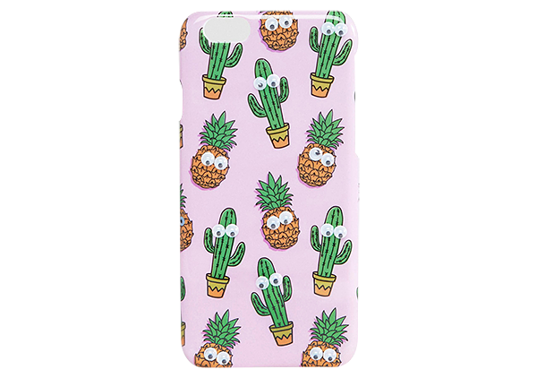 Cactus and pineapple iPhone 6/6S case, £8, asos.com