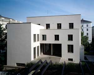 Wittgenstein House (1926-1928), Vienna. The philosopher designed it for his sister, paying fanatical attention to proportion and detail