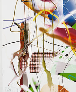 'Untitled' by Albert Oehlen (2001)