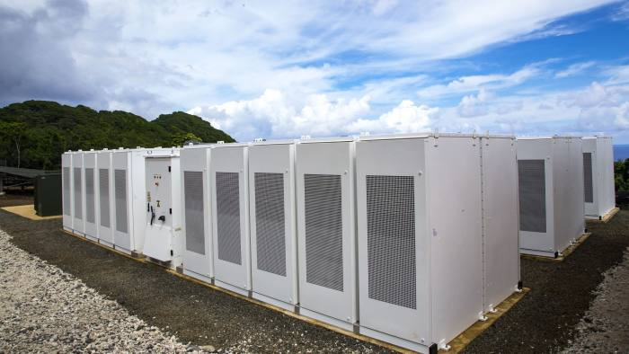 Tesla powerpack, California