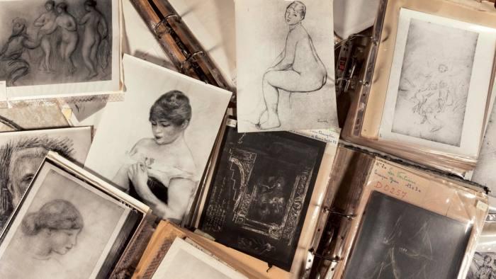 Renoir sketches and drawings