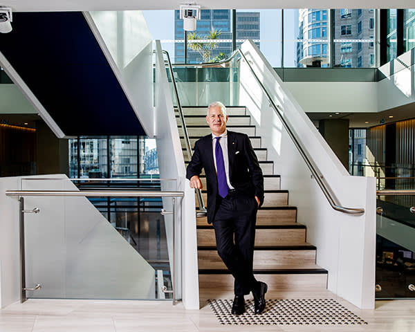 John W.H. Denton photographed at his Sydney office is a Partner and the Chief Executive Officer of Corrs Chambers Westgarth, Australia. 29/5/2017 Photo James Horan