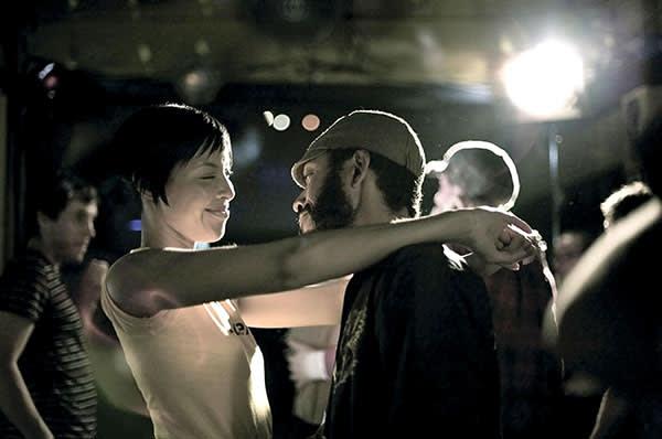 Tracey Heggins and Wyatt Cenac in Jenkins' debut Medicine for Melancholy (2008)