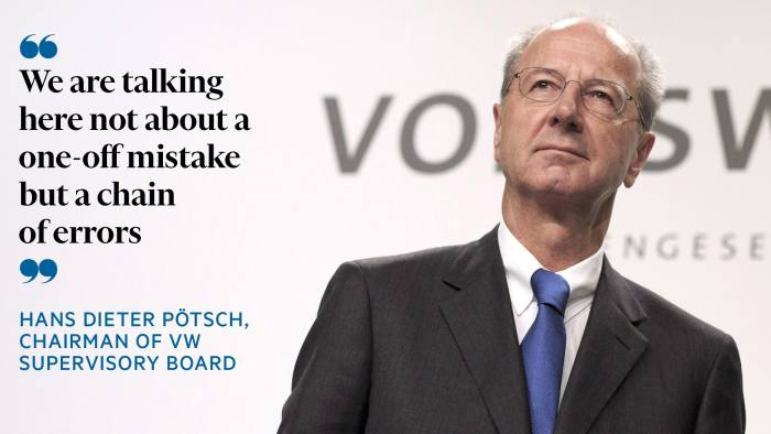 Hans Dieter Potsch told the news conference: