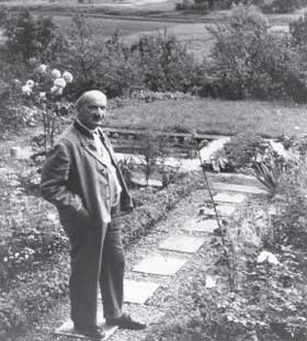 Heidegger in his garden