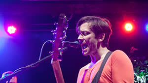 British Sea Power perform live during a concert at the Postbahnhof on June 27, 2013 in Berlin, Germany