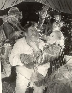 A still from 'A Midsummer Night's Dream' (1959), starring Charles Laughton