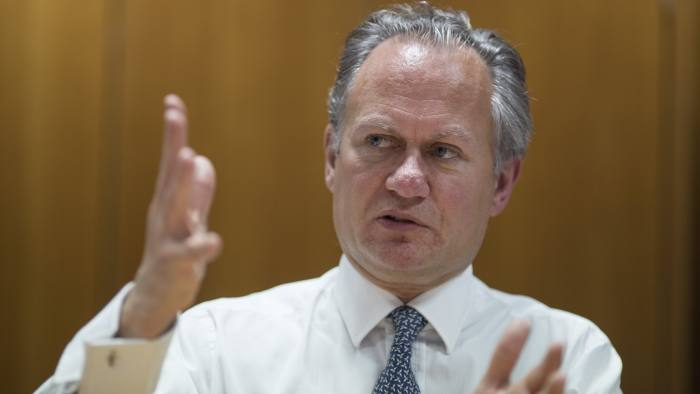 FT Money round table. Picture shows Richard Buxton, CEO Old Mutual Global Investors. FT Money round table.
