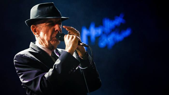 Canadian singer-songwriter Leonard Cohen performs during the first night of the 47th Montreux Jazz Festival in Montreux, Switzerland on July 4, 2013. REUTERS/Valentin Flauraud/File Photo     TPX IMAGES OF THE DAY