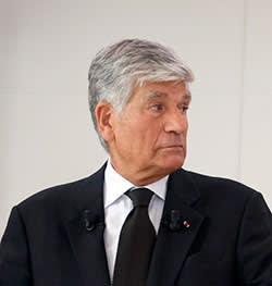 Maurice Lévy, CEO of Publicis, who accuses Sorrell of ad hominem attacks