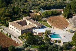 A 148-acre estate in Mallorca, Spain
