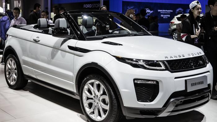 Jaguar Land Rover >> Jaguar Land Rover Profits Fall 40 Despite Rise In Sales Financial