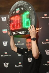 The launch of TAG Heuer's partnership wit hthe English Premier League