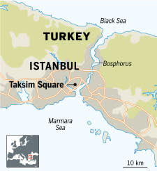 Istanbul barricades remain after two days of unrest   Financial Times