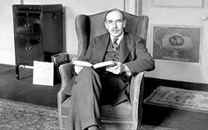 John Maynard Keynes, the British economist, c1929