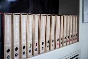 Files inside elBulli Taller