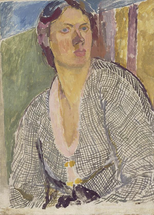 Vanessa Bell, 'Self-Portrait' (c.1915)