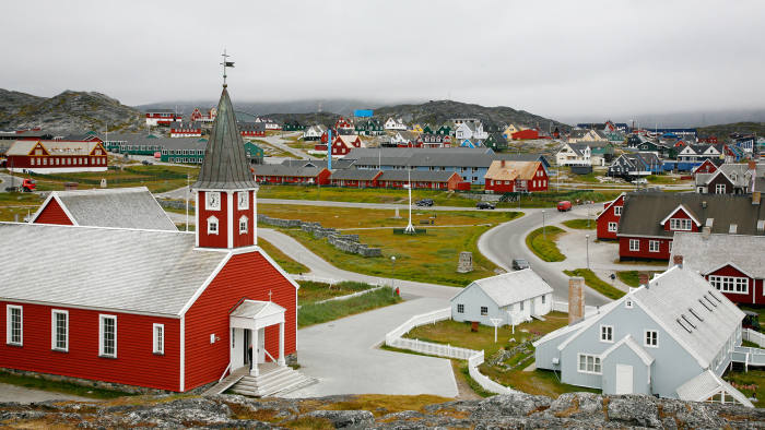 Nuuk, Greenland, at once capital city and village (population 16,000), was founded by Lutheran missionary Hans Egede 300 years ago