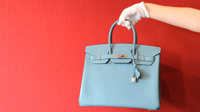 Hermes bags for auction by Bonhams, London
