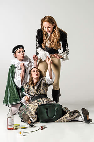 A scene from 'Shit-Faced Shakespeare'