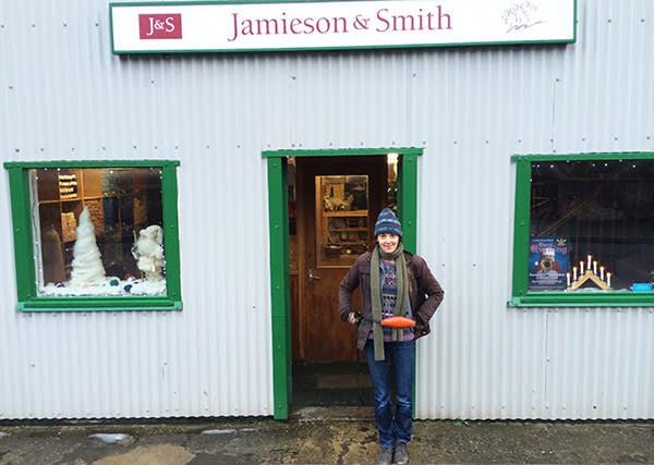 Lucy Kellaway at Jamieson & Smith