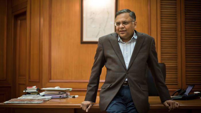 Tata's newly appointed chairman Natarajan Chandrasekaran