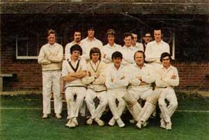 The Wimborne St Giles team of 1972