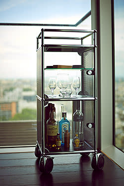 Drinks cabinet, customised by Rees