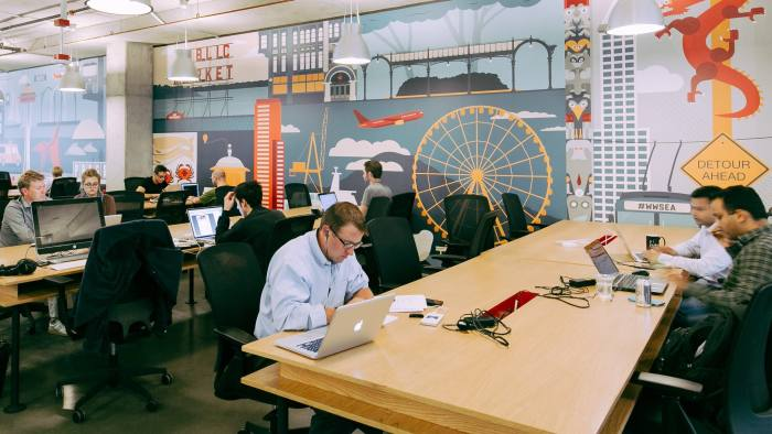 Prosecco perks and flexible co-working put London office market in