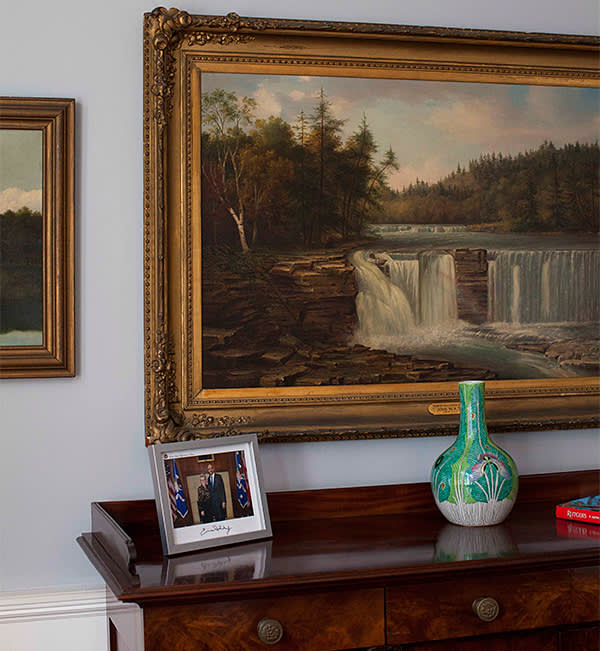 'Trenton Falls, Canada Creek, New York, 1865' by John WA Scott