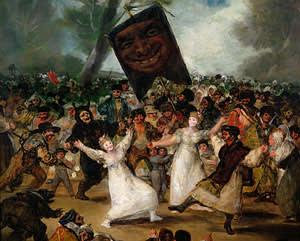 Goya's 'The Burial of the Sardine' (1812-1819)