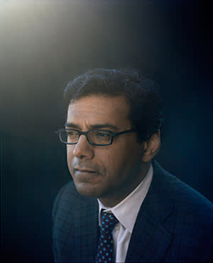 Atul Gawande photographed by Maja Daniels at the BBC