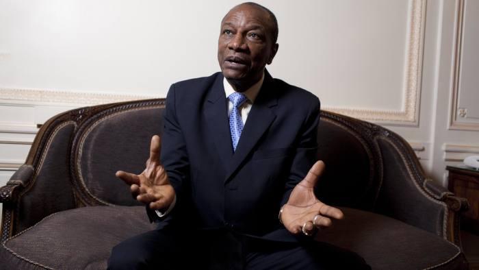 Alpha Condé, president of Guinea