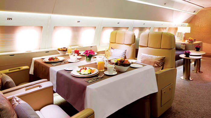 The Emirates Exclusive cabin