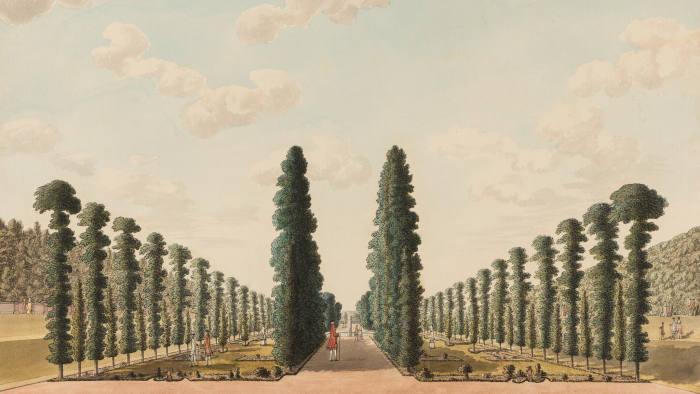 'The Privy Garden, Hampton Court Palace' by John Spyers