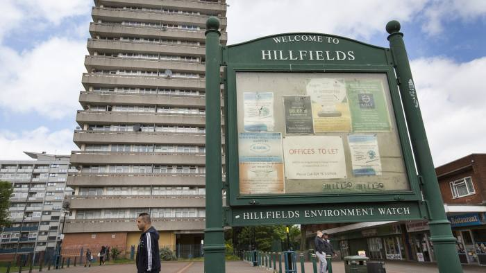 Coventry election story. The Hillfields area of Coventry. Words: Josh Chaffin.