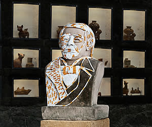 'Benito Juárez' (2012), by Sarah Lucas