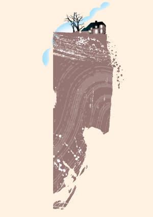 Illustration for Gillian Tett's 'Why America likes living on the edge'