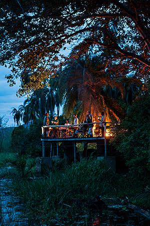 The Ruzizi Tented Lodge in Akagera National Park
