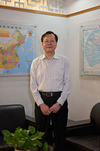 Zhang Peng, vice-director of the economy and technology bureau, Shunde, Foshan