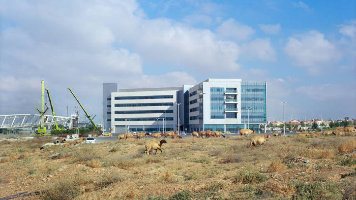 The new 'advanced technologies' cyber park being built in the Negev desert city of Beer Sheva