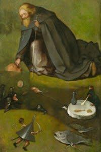 Hieronymus Bosch, The Temptation of Saint Anthony