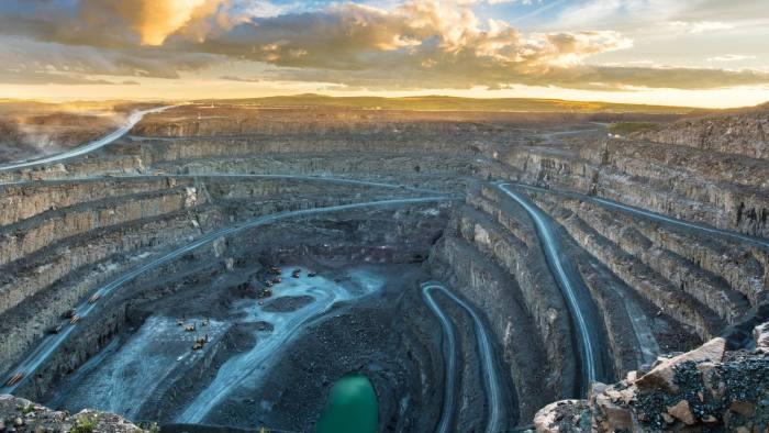 The Letseng mine in Lesotho
