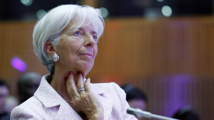 Christine Lagarde, head of the International Monetary Fund