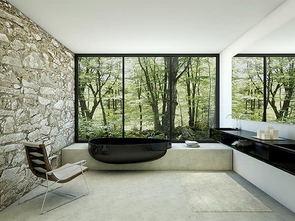 Beyond Bath, by Danelon Meroni, £7,000, glassidromassaggio.it
